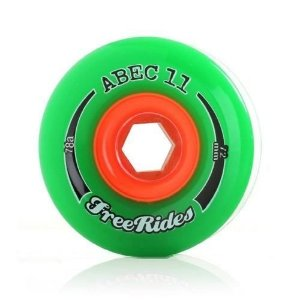 Roda Abec 11 Freerides Classic 72mm 78A Verde