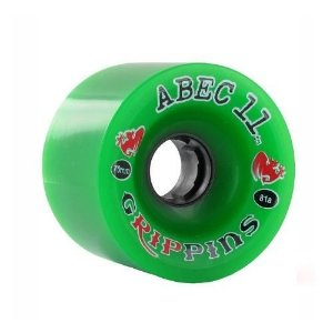 Roda Abec 11 Grippins 70mm 81A Verde