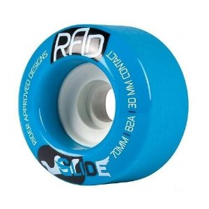 Roda Rad Glide Slide 70mm 82A Azul