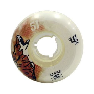 Roda Type-S Fast Animals Wagner Ramos 51mm 98A Branca