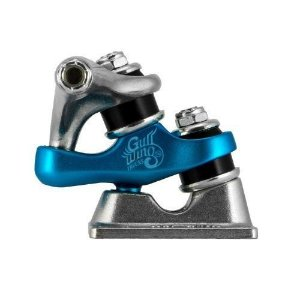 Truck Gullwing Sidewinder Silver Blue 185mm