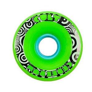Roda Cult Cerebrum 71mm 80A Verde