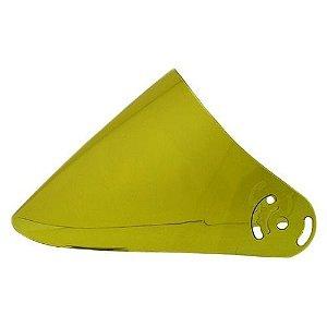 Viseira Capacete Predator Dh6 Full Face - Amarela