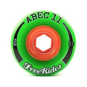 Roda Abec 11 Freerides Classic 66mm 81A Verde