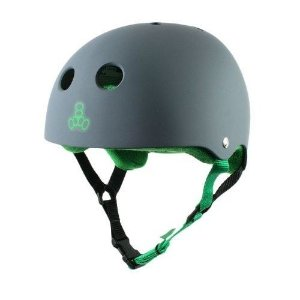 Capacete Triple 8 Carbon Rubber
