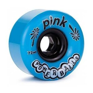 Roda Abec11 Pink Powerballs 72mm 81a