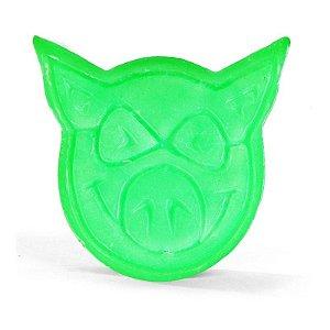 Parafina Vela Pig Neon Wax Green
