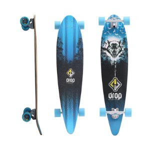 "Longboard Pintail Completo DropBoards Savage 10"" x 39"""