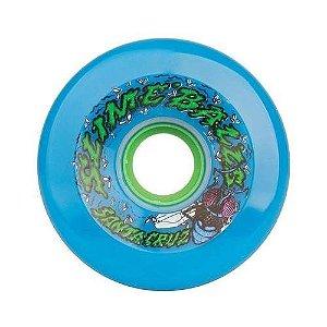 Roda Santa Cruz Slime Balls Road Kill Neon Blue 72mm 78A