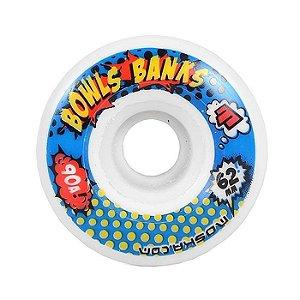 Roda Moska Bowls Banks 62mm 90a