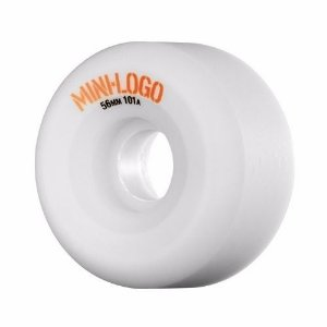 Roda Mini Logo A Cut 56mm 101A Branca