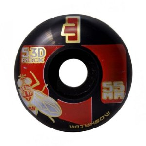 Roda Moska 55mm Black Rock