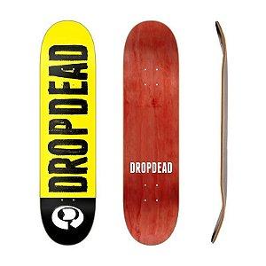 Shape Drop Dead Logo Amarelo 8.1