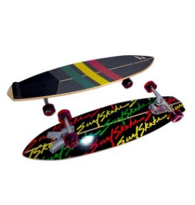 Simulador Surf Skate Revolution Stunner Rasta
