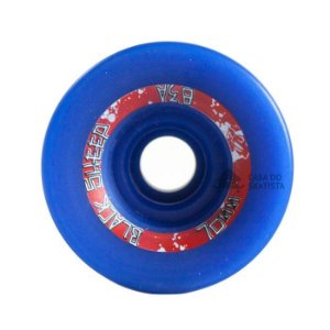 Roda Black Sheep Longboard 70mm 83A Centerset Azul