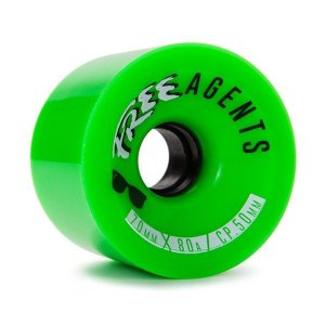 Roda Free Wheels Free Agents 70mm 80A