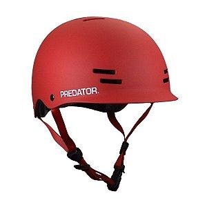 Capacete Predator FR7 Certified Vermelho - PP / P