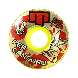 Roda Moska Model Per Canguru 55mm 53D Amarela