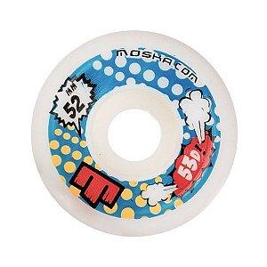 Roda Moska Bowls Banks 52mm 53D Branca