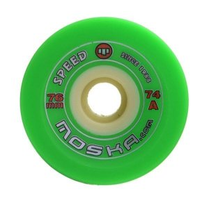 Roda Moska Speed 76mm 74A Verde