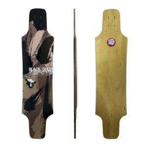 Shape Longboard Black Sheep Simétrico Camuflado 9.0 x 38