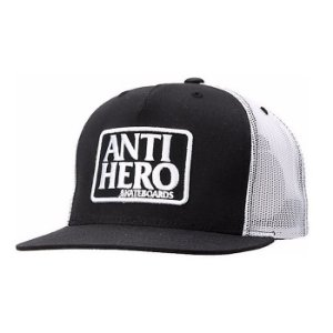 Boné Anti Hero Reserve Trucker Branco Preto