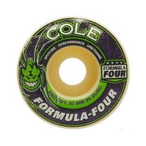 Roda Spitfire Formula Four Chris Cole 50mm 99A Branca