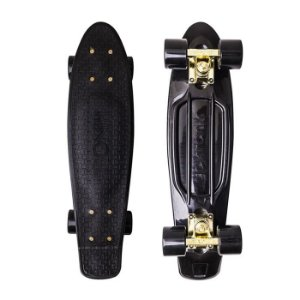 Mini Cruiser Kronik The Breeze Gold Black 22""