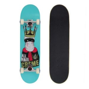 Skate Completo Importado Crème King 8.0 - Shape Maple