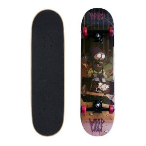 Skate Completo Wood Light Ladeira 7.8