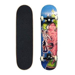 Skate Completo Profissional Kronik Caliente 7.5