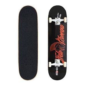 Skate Completo Profissional Kronik Ítalo Romano IR Black 8.0