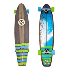 Longboard Completo Kryptonics Tube View 36""