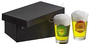 Kit Cerveja 2 copos caldereta-Coleçao 1