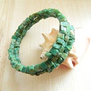 Pulseira Pedra Turquesa Verde