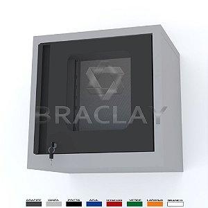 ARMÁRIO INDUSTRIAL MODULAR SUSPENSO 500X500X350MM BRA-0450A FLEX BRACLAY