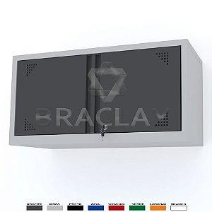 ARMÁRIO INDUSTRIAL MODULAR SUSPENSO 1000X500X350MM BRA-0410 / BRA-0410A FLEX BRACLAY
