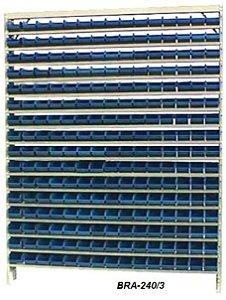 Estante Para Caixa Bin porta Componentes P/ Gavetas n.3 Braclay