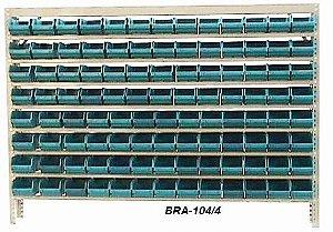 Estante Para Caixa Bin Porta componentes n.4 Braclay