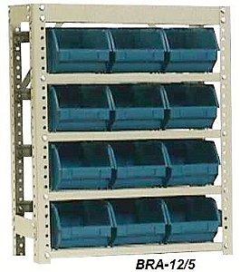 Estante para Caixa Bin Porta Componetes N.5 Braclay