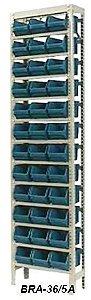 Estante Para Caixa Bin Porta Componentes p/ Gavetas N.5 Braclay