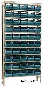 Estante Para Caixa Bin Porta Componentes Para Gavetas n.6 Braclay