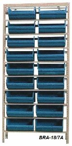 Estante Para Caixa Bin Porta componentes Gavetas n.7 Braclay