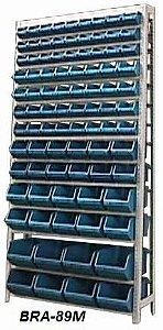 Estante Para Caixa Bin Porta Componentes Gavetas Ns.3, 4, 5, 6 e 7 Braclay