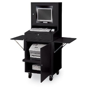Rack Industrial Para Computador Para Monitor Lcd BRA-1089GA Braclay