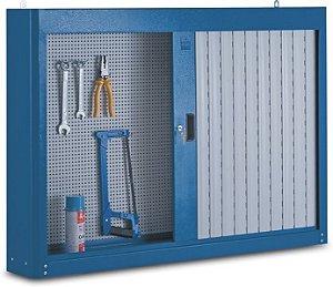 Armário Industrial de Parede para Ferramentas c/ porta em persiana 216A CMB