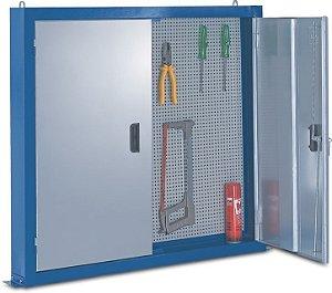 Armário Industrial de Parede para Ferramentas c/ painel perfurado 216B CMB