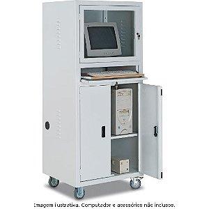 Rack Industrial P/ Computador C/ Porta de Vidro RPCV01 CMB