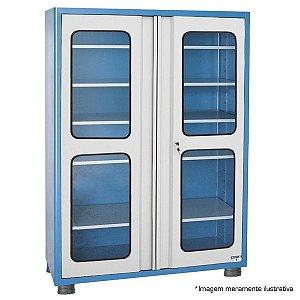 Armário industrial para ferramentas c/ 05 prateleiras, porta em vidro AM-10 MARCON