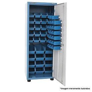 Armário industrial porta componentes p/ 52 caixas BIN AM-50 MARCON